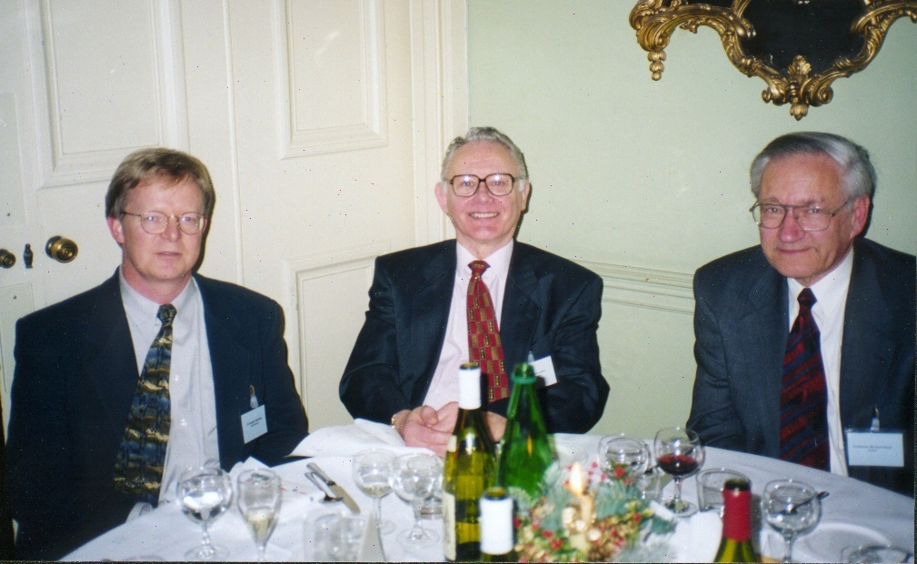 Mansfield, Ernst, Maudsley dinner photo 1999